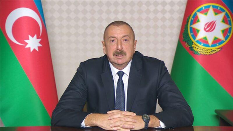 Aliyev: Ermenistan'ın Gence'ye saldırıları savaş suçudur