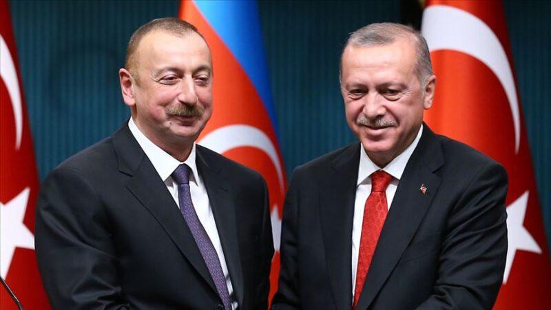 Aliyev'den Erdoğan'a teşekkür mektubu