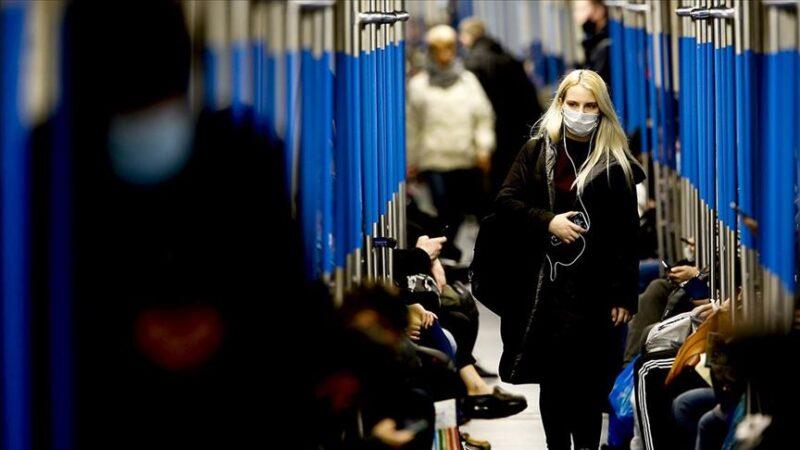 Rusya'da son 24 saatte 17 bin 717 yeni vaka