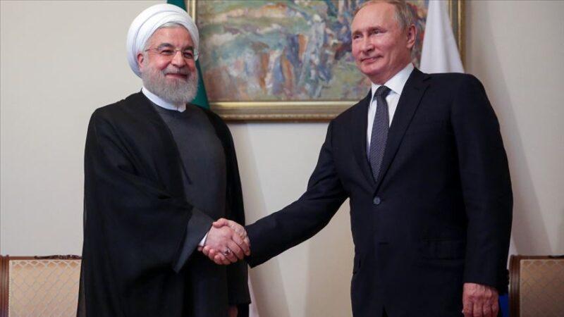 Ruhani, Putin ile Dağlık Karabağ'daki geçici ateşkesi görüştü