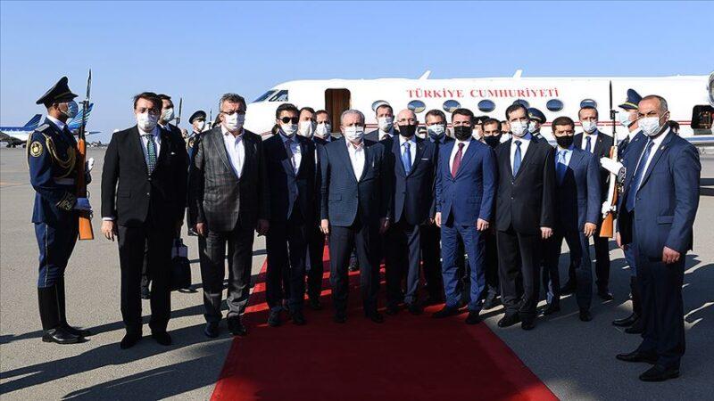 TBMM Başkanı Şentop Azerbaycan'da