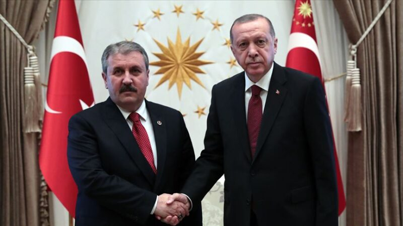 Cumhurbaşkanı Erdoğan'dan Destici'ye kutlama