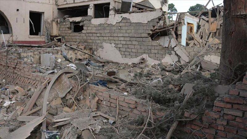 Ermenistan ikinci ateşkesi de ihlal ederek sivilleri vurdu… 1 yaralı