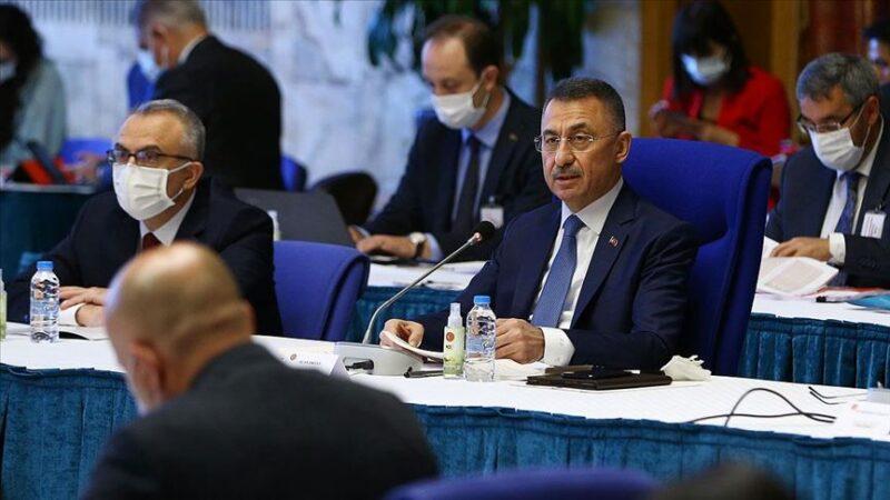 Fuat Oktay: 2021 bütçesi güçlü şekilde toparlanmaya başlayan Türkiye'nin bütçesidir