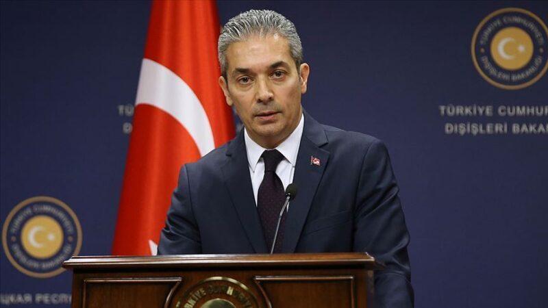 Türkiye'den AB'ye sert tepki