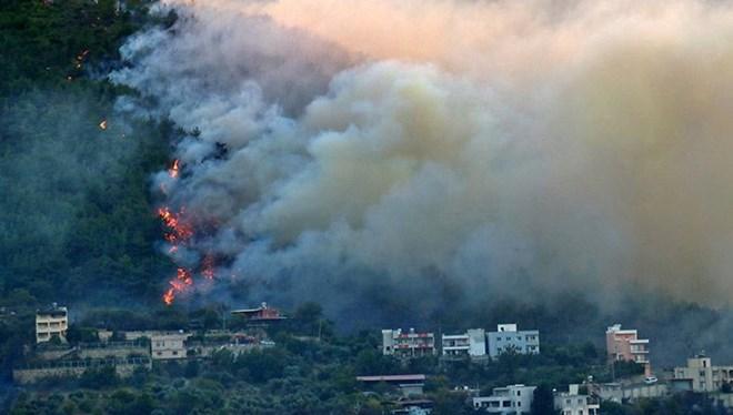 Hatay'da orman yangını: Belen'i yeniden alevler sardı