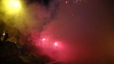 Uludağ eteklerinde meşaleli Cumhuriyet şöleni