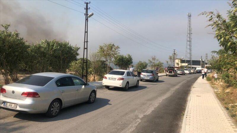 AFAD: Hatay'daki yangında 542 kişi tahliye edildi