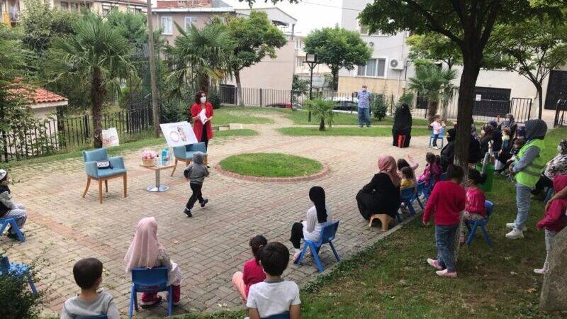 Yıldırım'da anne ve çocuklara eğitim