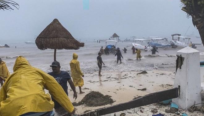 Tropikal fırtınası 6 can aldı
