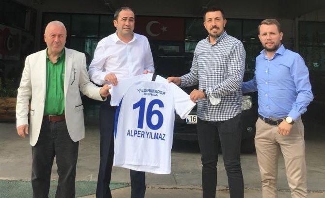Yıldırımspor'dan Spor Şube'ye ziyaret….