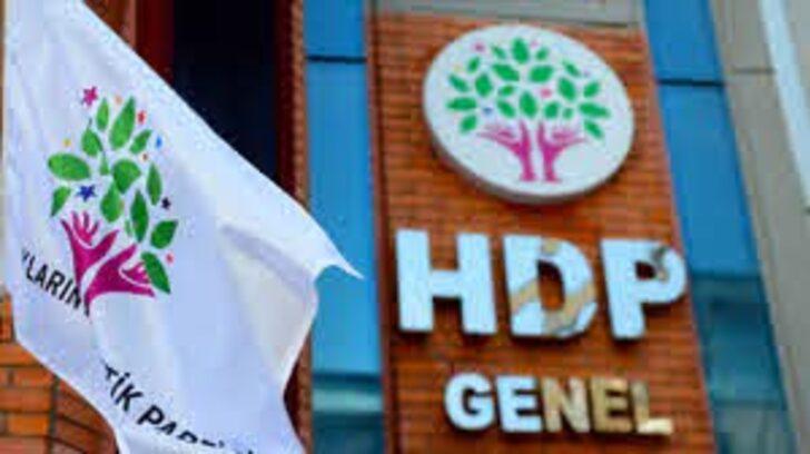 AİHM'den HDP'nin başvurusuna ret!