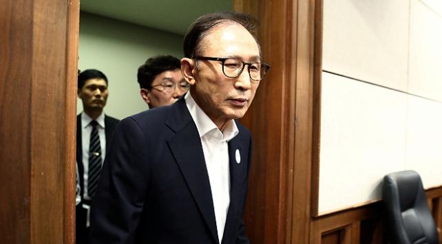 Güney Kore'de eski Devlet Başkanı cezaevine girdi