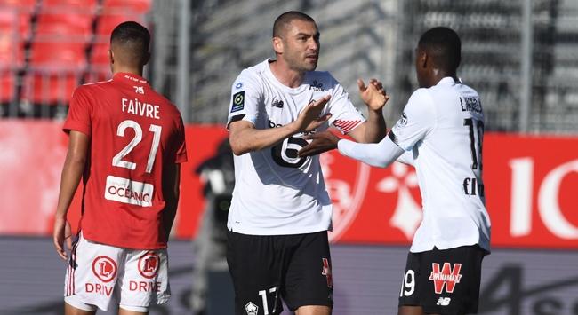 Burak Yılmaz'ın golleri Lille'i kurtarmaya yetmedi