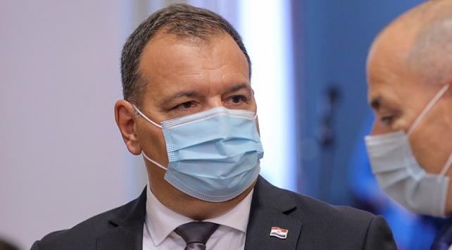 Hırvatistan Sağlık Bakanı koronavirüse yakalandı