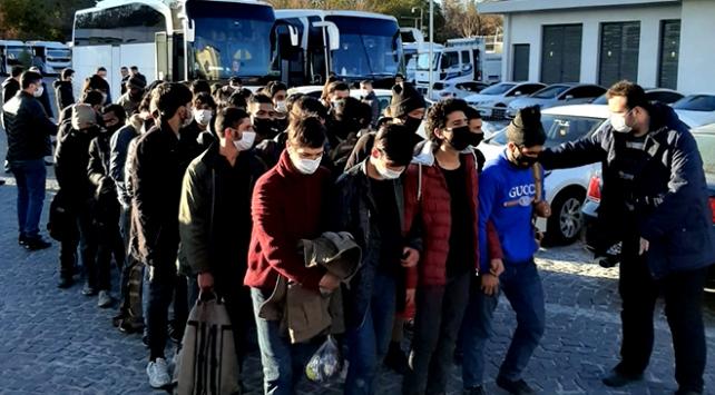 Ankara'da 88 düzensiz göçmen yakalandı