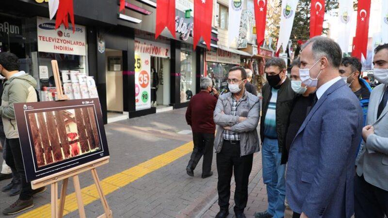 İnegöl sokaklarındaki pati izleri fotoğraflarla ölümsüzleşti