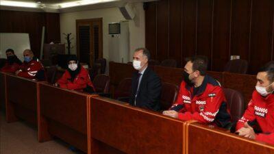 Başkan Taban'dan deprem kahramanlarına teşekkür