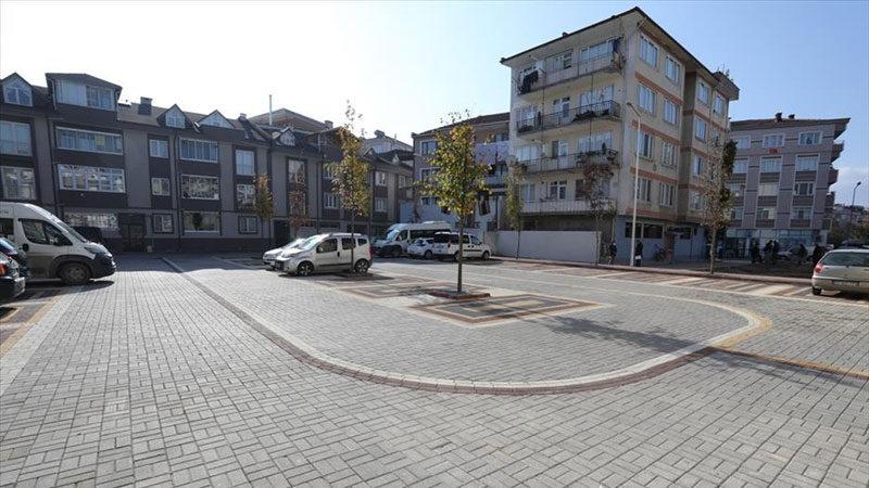 Yeşil Çayır Caddesi'ne 31 araçlık modern otopark kazandırıldı