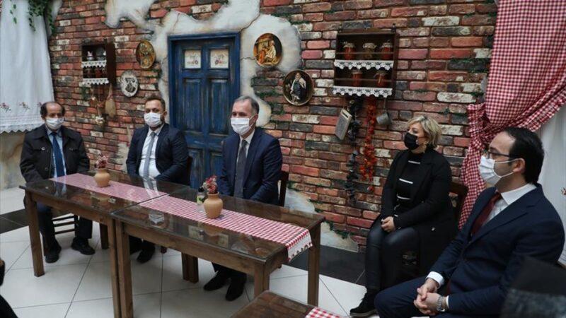 Başkan Alper Taban öğretmenlerle bir araya geldi