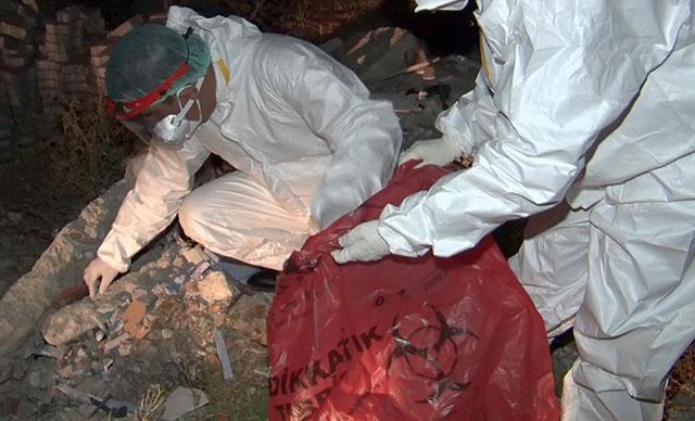 Atık tahlil tüpleri koronavirüs paniğine neden oldu