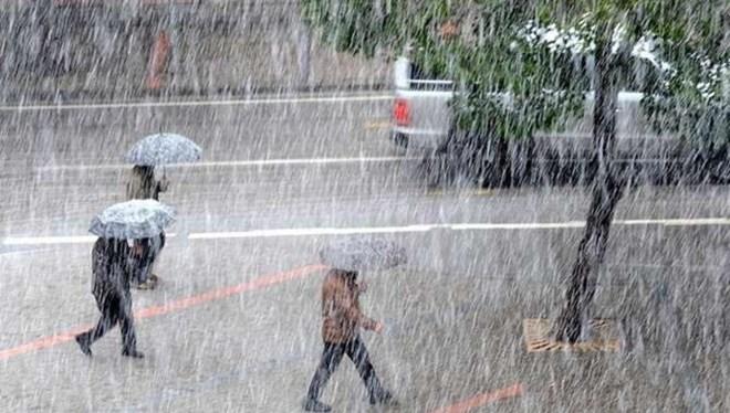 O bölgeye şiddetli ve aşırı yağış uyarısı