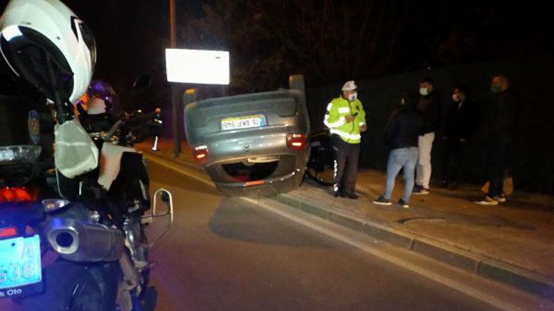 Yer: Bursa… Otomobil takla attı: 3 yaralı