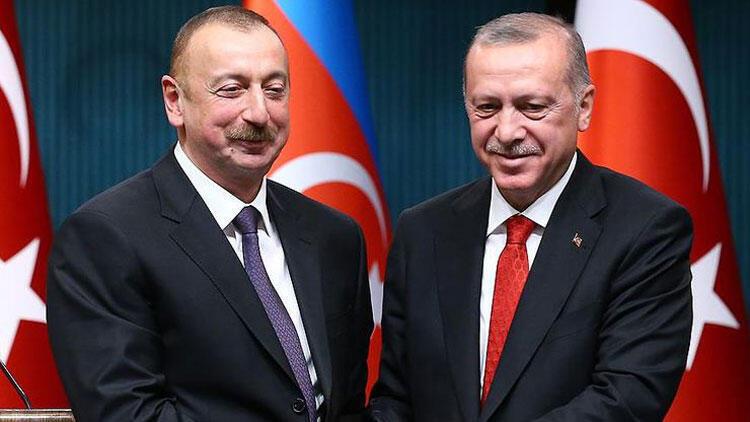 Cumhurbaşkanı Erdoğan'dan Aliyev'e kutlama