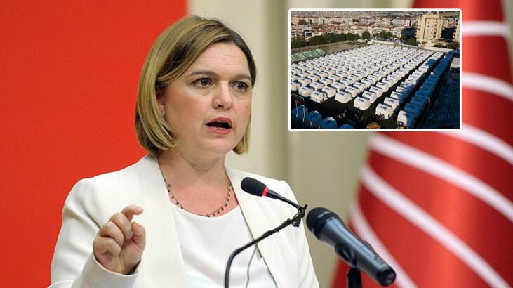 CHP'li Böke'nin AFAD çadırlarıyla ilgili iddiasına İçişleri'nden yalanlama geldi