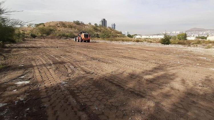 İzmir'deki konteyner kentin inşaatına başlandı
