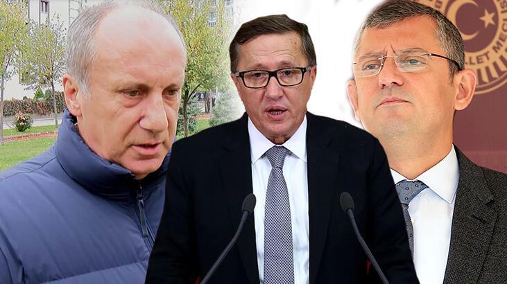 CHP ve İYİ Parti'den Muharrem İnce açıklaması