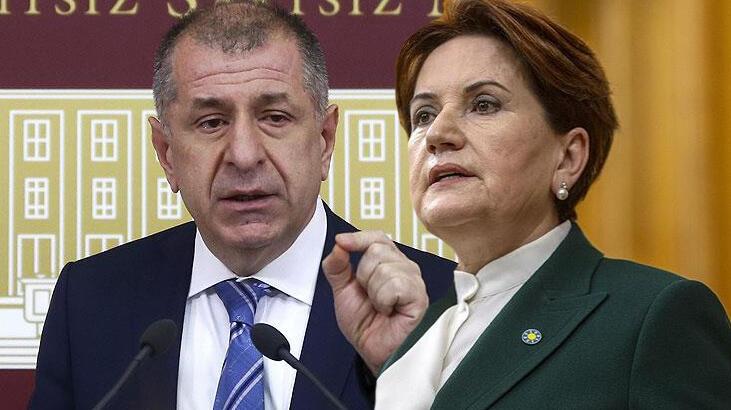 İYİ Parti lideri Meral Akşener'den Ümit Özdağ açıklaması