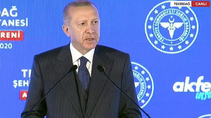 Cumhurbaşkanı Erdoğan TV'den izleyenlere seslendi: Ne olur bırakın