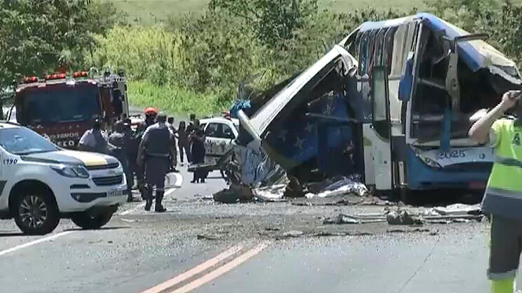 Brezilya'da feci kaza! 37 kişi hayatını kaybetti…