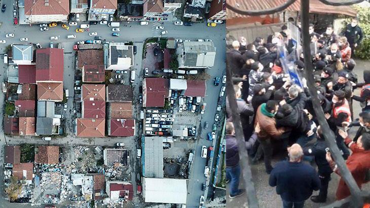 6 yıldır riskli binada oturanlara belediye 'Boşaltın' dedi olaylar çıktı