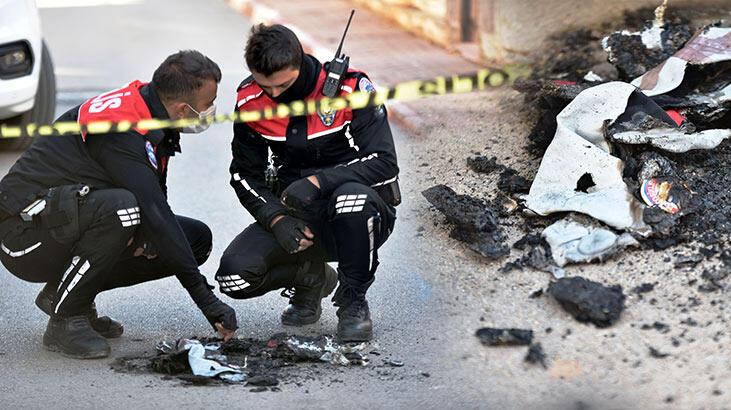 Sokak ortasında yaşandı! Yunus polisi üniforması ve teçhizatı yakıldı
