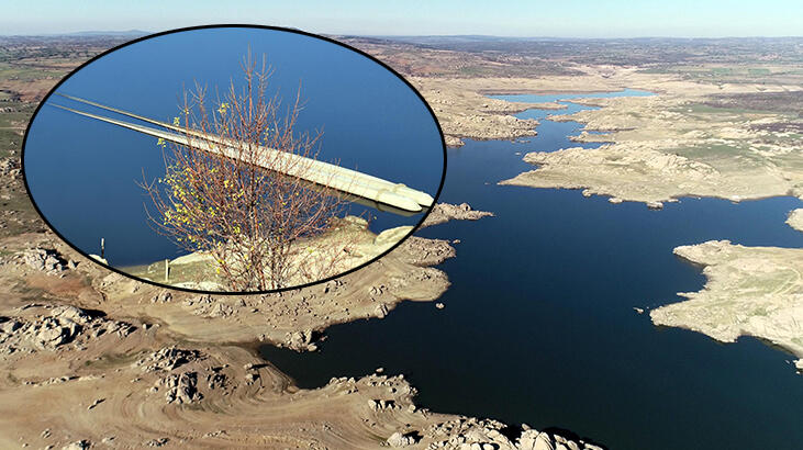 İçme suyunu sağlayan baraj kurudu! 36 saat kesinti uygulanıyor