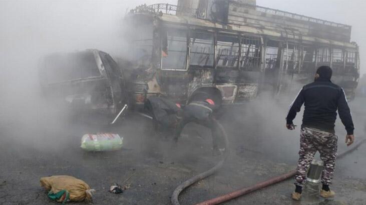 Katliam gibi kaza: 13 ölü, 17 yaralı