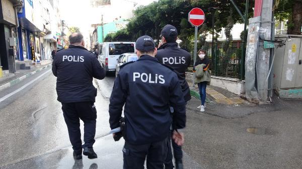 Bursa'da '65 yaş ve üstü' denetimi