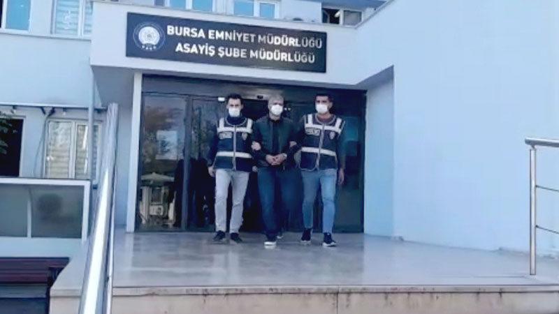 Bursa'da her yerde aranıyordu! Yakalandı