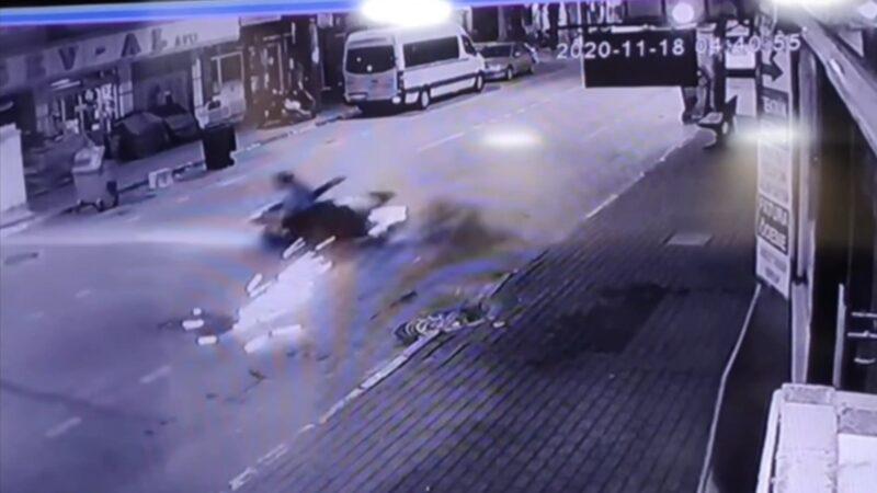 Bursa'da ölüme ramak kala! Kontrolden çıktı… O anlar kamerada