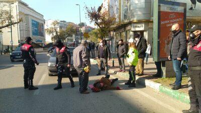 Bursa'da feci kaza! Eşi başından ayrılmadı