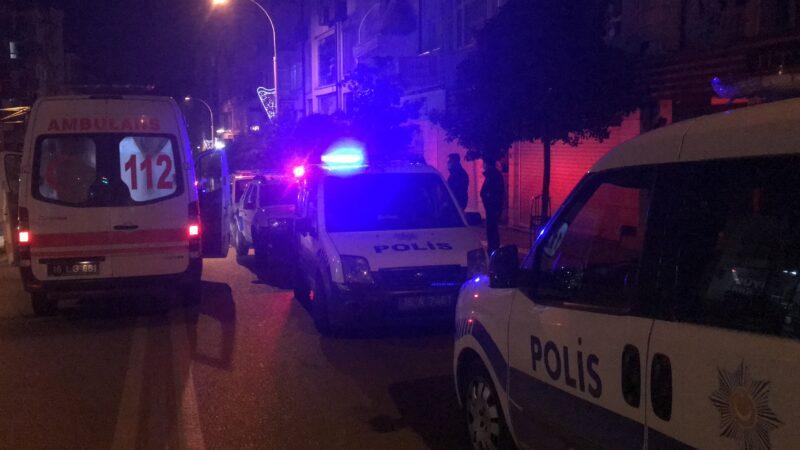 Bursa'da polisi harekete geçiren olay