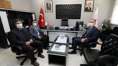 Başkan Taban'dan Başhekim Zengi'ye Ziyaret