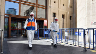 Osmangazi'de aralıksız dezenfekte