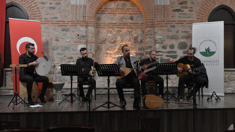 Osmangazi'den türkü dolu gece