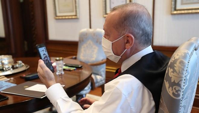 Cumhurbaşkanı Erdoğan kahraman Türklerle görüştü