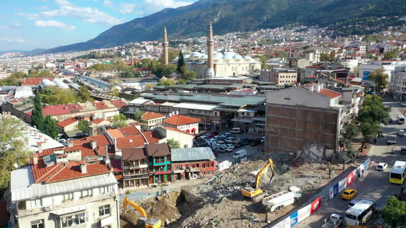Bursa'da 'ticaretin kalbi' gün yüzüne çıktı