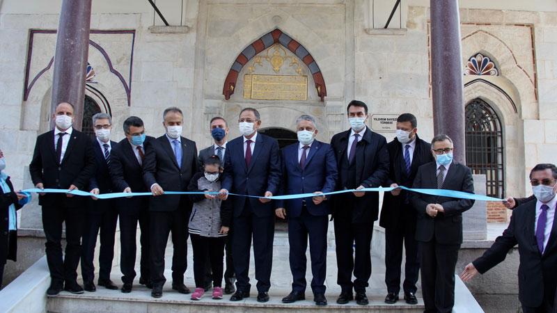Bursa'daki 6 asırlık türbe ilk günkü ihtişamına kavuştu