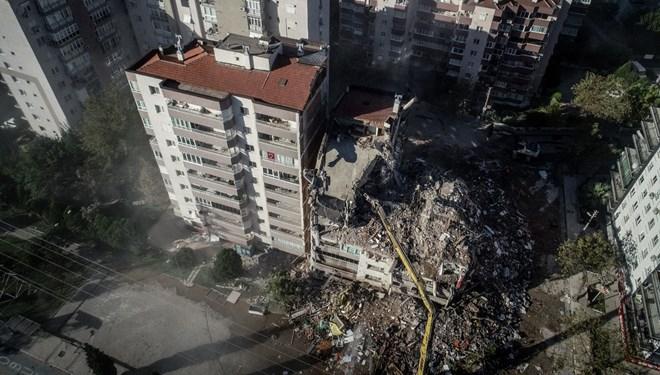 İzmir depremi sonrası çarpıcı iddia! Kolonlar ve duvarlar kırılarak…